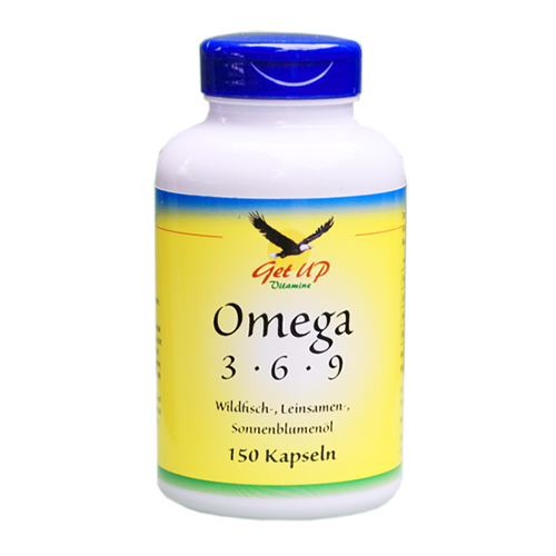 Omega 3-6-9 Fettsäuren, Kapseln