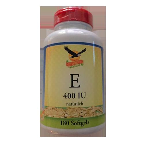Vitamin E, Kapseln